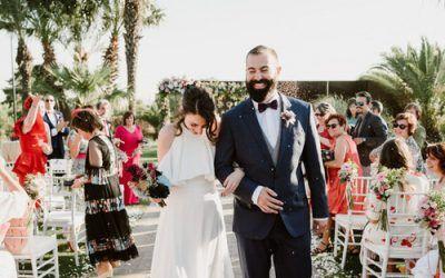 La boda en los Salones Aralia de Diana y Marcelo