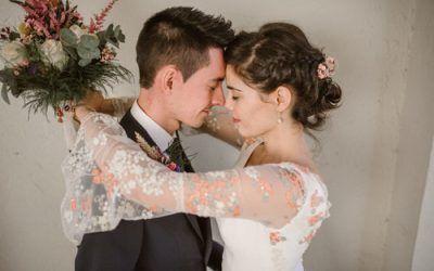La boda en el Cortijo de Mónico de Tere y Paco
