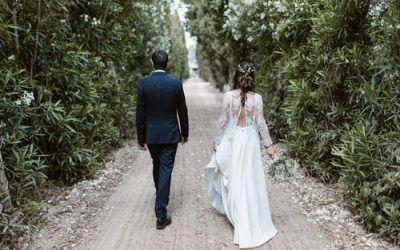 La boda en el Huerto de Montesinos de Laura y Borja