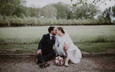 La boda en el Palacio de Saldañuela de Cris y Héctor