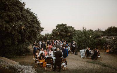 La boda en la finca el Bosquecito de Rocío y Jaime