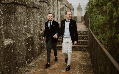 La boda en el Castillo de Almodovar de Antonio y Álex